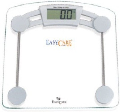 easy care GLASSCALE Weighing Scale(Transperant)