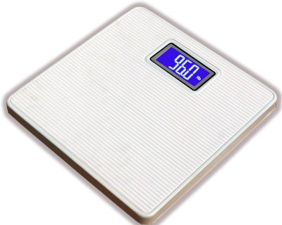 WhiteCherry Digital Personal Bathroom Health Body Weighing Scale(White)