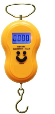 WeighTaj 50Kg WeighTaj Big Holding Hook Digital/Electronic Hanging/Luggage Weighing Kitchen Scale Weighing Scale(Multicolor)  available at flipkart for Rs.275
