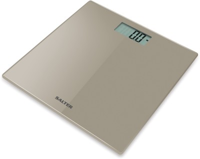 Salter Glass Bathroom Weighing Scale(Beige)
