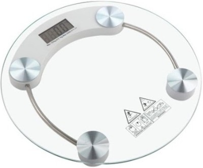 PERSONNAL Round Weighing Scale(White)
