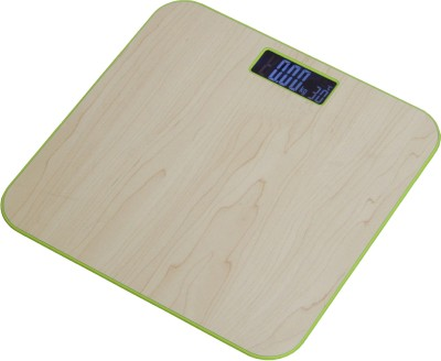 Virgo Wooden Personal Weighing Scale(Brown)