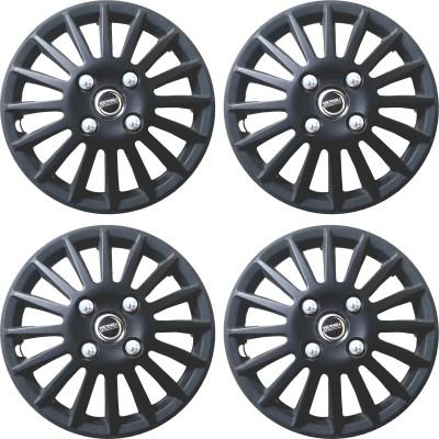 Hotwheelz Sporty Matte Black Wheel Cover For Ford Figo(35.56 cm)
