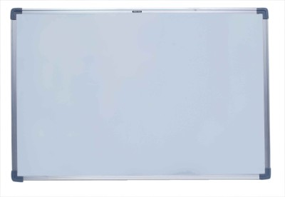 Roger & Moris Regular Non Magnetic Melamine Small Whiteboards(Set of 1, White)