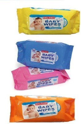 Baby Tender cotton WET wipes 4 Wipes Baby Tender Baby Wipes