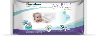 Himalaya GENTLE Baby Wipes 72's