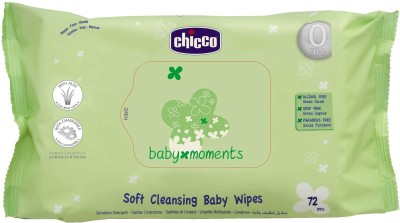 Chicco Soft Cleansing Baby Wipes(72 Pieces)