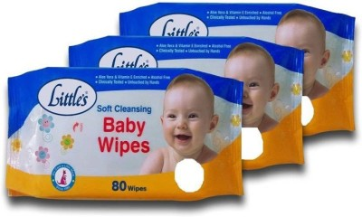Chhote Janab Little's Baby Wet Wipes  Pack of 3  3 Wipes