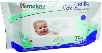 Himalaya Gentle Baby wipes (72 Pieces)