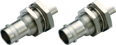 MX HD SDI BNC3522 SDI BNC Female Crimp type Connector for HD-SDI Cable &SDI CCTV Camera Wire Connector(Silver, Gold, Pack of 2)  available at flipkart for Rs.399