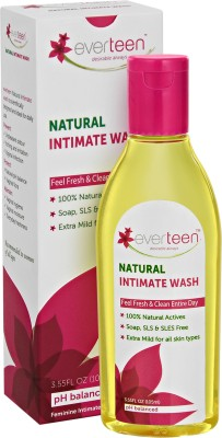 everteen Natural Intimate Wash(105 ml, Pack of 1)