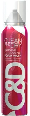 Midas Care Clean and Dry Cleansing Foam Intimate Wash(84 g)  available at flipkart for Rs.235