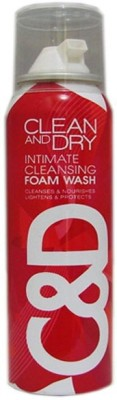 Midas Care Clean and dry Foam Intimate Wash Intimate Wash(84 g)  available at flipkart for Rs.249