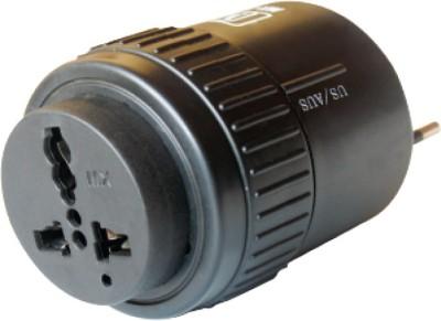 MX Universal Pocket Travel Power Charger Multi-Plug, AU/EU/UK/US/CN Worldwide Adaptor(Black)