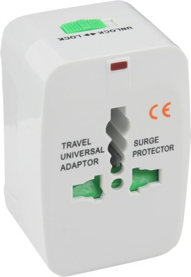 Gizmobaba universal adaptor Worldwide Adaptor(White) at flipkart