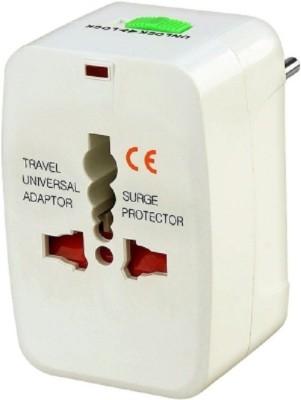 TNT Universal Multiplug ( US/ Europe/ Africa/ Asia) Worldwide Adaptor(White) at flipkart