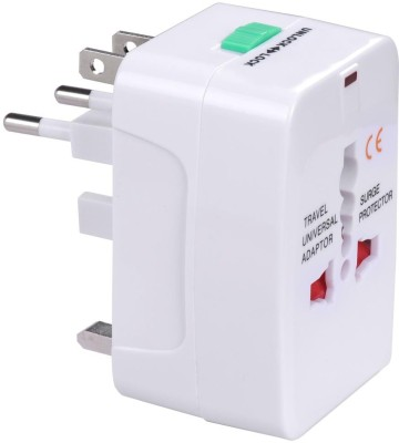 Gadget Hero's GHUPAC Worldwide Adaptor(White)  available at flipkart for Rs.199