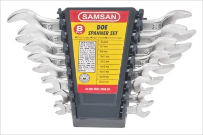 Samsan-DOE-Open-End-Spanner-Set-(8-Pc)