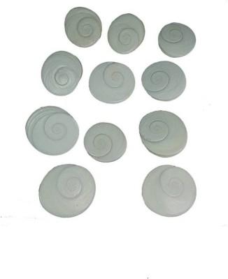 Manoramaenterprises Chamatkari maa laxmi prati Gomati Chakra Stoneware Yantra(Pack of 11)  available at flipkart for Rs.105