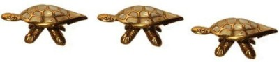 AMRIT SANJIVNI Brass Kachua Or Turtle Weight -400 gms Brass Yantra(Pack of 1)  available at flipkart for Rs.640