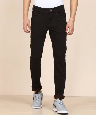 Slim Men Brown Jeans