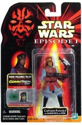 Hasbro Star Wars Captain Panaka w//Blaster Rifle and Pistol 84108 Action Figure