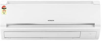 Hitachi 1 Ton 5 Star Split AC  - White