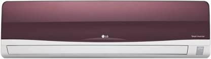 LG 1 Ton 3 Star Split Inverter AC  - Red