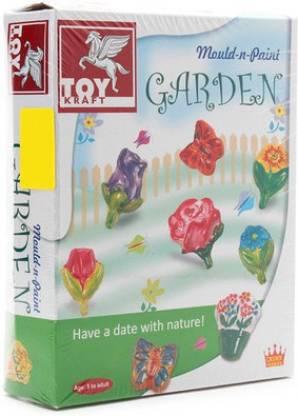 ToyKraft Kraft Mould n Paint - Garden