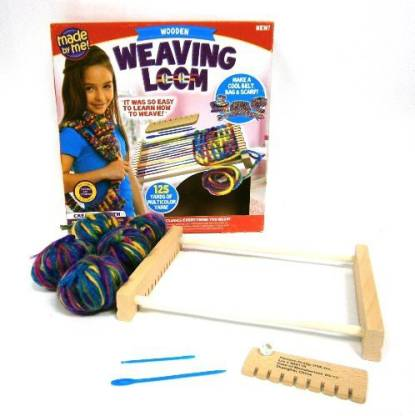 Made By Me Wooden Weaving Loom Kit