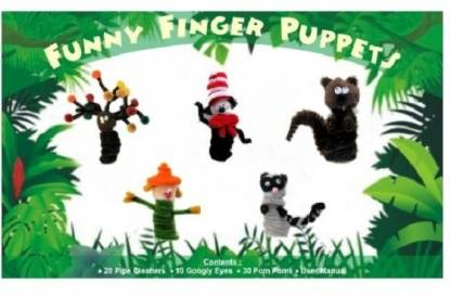 Atanands Funny Finger Puppet