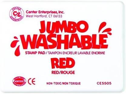 Center Enterprise CE5505 Jumbo Washable Stamp Pad,