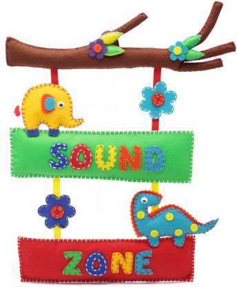 Earthen Hues Hand Made Sound Zone Branch Name Board
