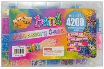 craftzcreation 4200 Loom Band Set