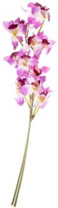 FOURWALLS Purple Orchids Artificial Flower