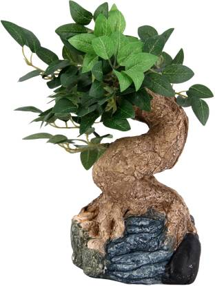 JB Collection Bonsai Wild Artificial Plant  with Pot