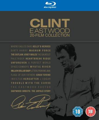 Clint Eastwood 20 - Film Collection
