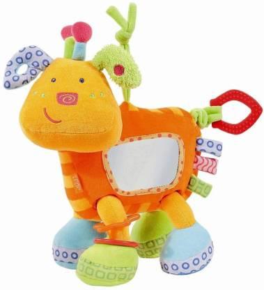 Baby Fehn Activity Toy Dog Rattle
