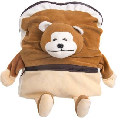 Verdant Globe Monkey Kids Shoulder Backpack Bag no-15 School Bag