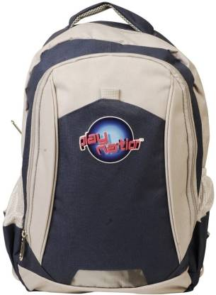 DISNEY Playnation Backpack Blue & Grey Waterproof Backpack