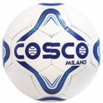 Cosco Milano Football   Size: 5 White, Blue  Cosco Footballs