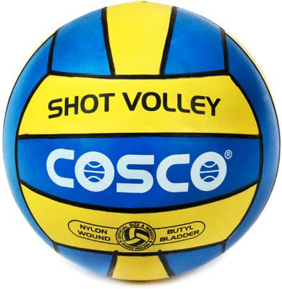 Cosco Shot Volleyball   Size: 4 Multicolor