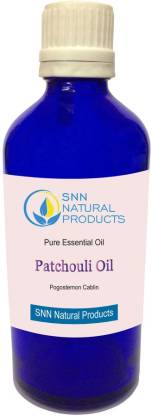 SNN NATURAL PRODUCTS Patchouli Essential Oil - (Pogostemon cablin)