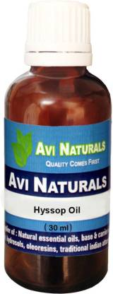 AVI NATURALS Hyssop Oil, 100% Pure, Natural & Undiluted