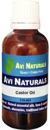 AVI NATURALS Castor Oil, 100% Pure, Natural & Undiluted