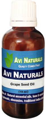 AVI NATURALS Grape Seed Oil, 100% Pure, Natural & Undiluted