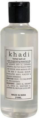 Rockside Khadi Bath Oil With Invigorating Essential Oils