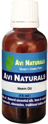 AVI NATURALS Neem Oil, 100% Pure, Natural & Undiluted