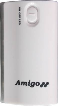 Amigo Power Bank - 5600 mAh (With Blackberry, Micromax, Nokia, Iphone, Ipad, Ipod Charging Cable) Mobile Charger