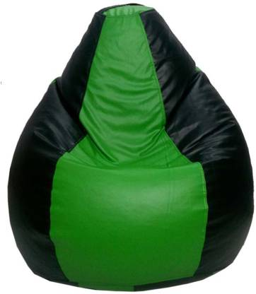 Psygn Large Tear Drop Bean Bag Cover  Without Beans  Multicolor